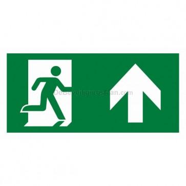 Noodverlichting pictogram symbool Pictogram omhoog APIC-2