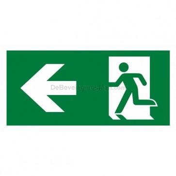 Noodverlichting pictogram symbool Pictogram links APIC-6