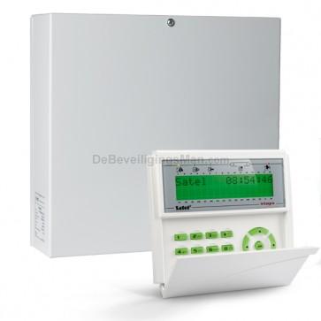 InteGra 64 Plus pack met Groen LCD bediendeel met 16 (3EOL) zones t.b.v. AntiMask