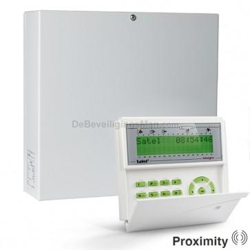 InteGra 64 Plus pack met Groen Prox LCD bediendeel met 16 (3EOL) zones t.b.v. AntiMask