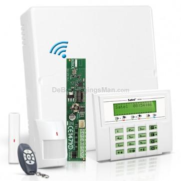 Versa 5 RF Pack met Groen LCD, incl. RF Module, Draadloos Magneetcontact, Bewegingsmelder en Handzender