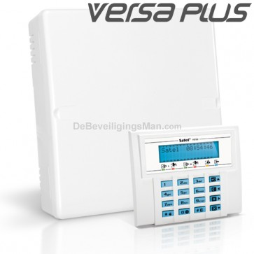 VERSA PLUS Pack met Blauw LCD Bediendeel
