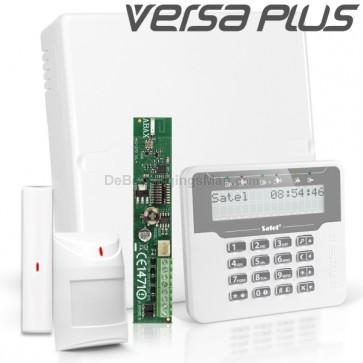 VERSA PLUS RF Pack met Wit LCD, incl. RF Module, Draadloos Magneetcontact en Bewegingsmelder