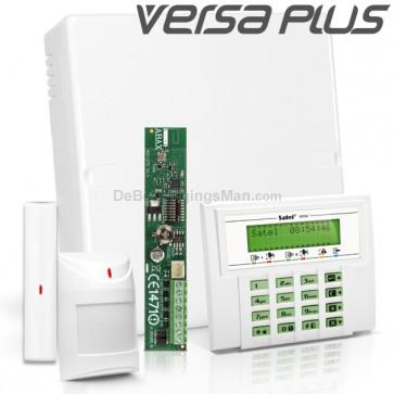 VERSA PLUS RF Pack met Groen LCD, incl. RF Module, Draadloos Magneetcontact en Bewegingsmelder