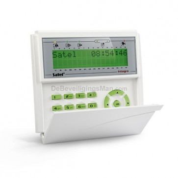 INT-KLCD-GR Groen InteGra LCD Bediendeel