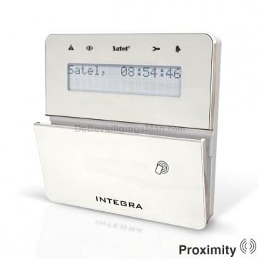 INT-KLFR SSW Zilver InteGra LCD Prox bediendeel
