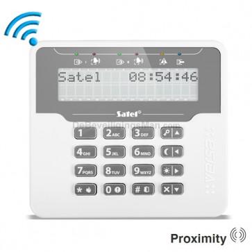 VERSA-LCDM-WRL Draadloos proximity bediendeel met groot LCD display