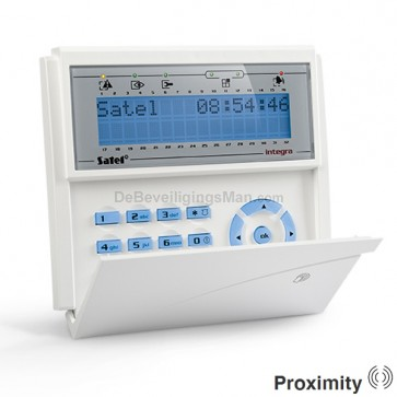 INT-KLCDR-BL Blauw InteGra LCD PROX Bediendeel