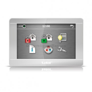 """INT-TSH-SSW 7"""" Touchscreen bediendeel Zilver voor InteGra/Versa"""