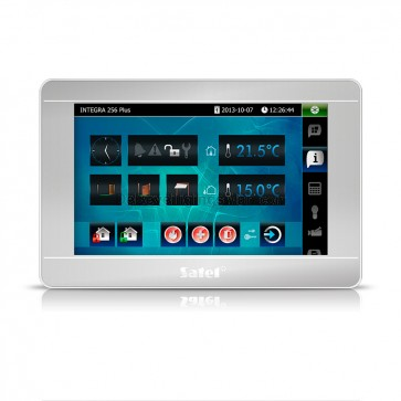 """INT-TSI-SSW 7"""" Touchscreen bediendeel Zilver voor InteGra (training noodzakelijk)"""
