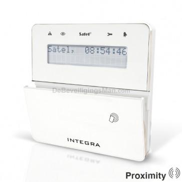 INT-KLFR-WSW Wit InteGra LCD Prox bediendeel
