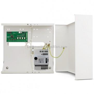INT-PP zone en uitgangen uitbreiding in kast met APS-412 voeding