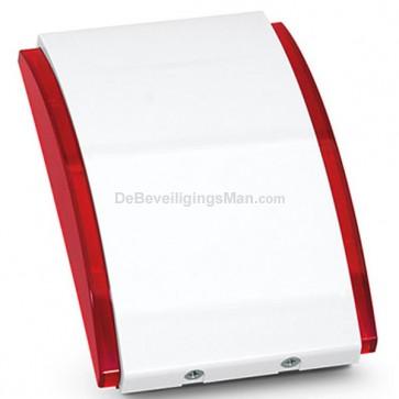 ABAX ASP-205 InteGra/Versa Draadloze Binnensirene met Flitser Rood