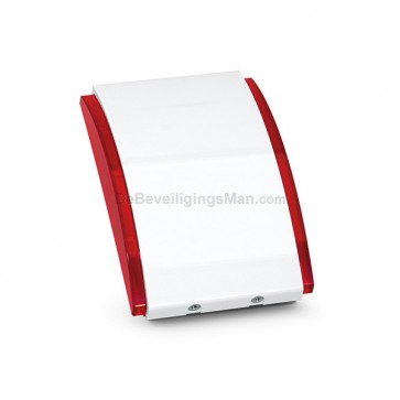 Satel SPW-210R Binnensirene met Rode omlijsting