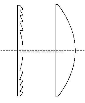Aqua lens gordijn 22,5 meter