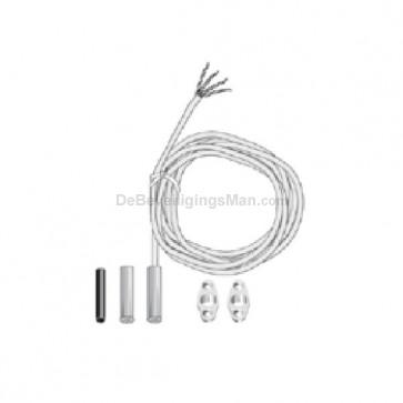 EMK46 R 1K1 InteGra magneetcontact met weerstand inbouw
