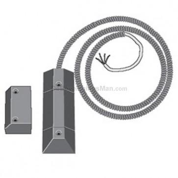 AMK4R 1K1 Integra opbouw garagedeur met weerstanden