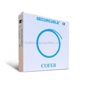 Cofer 200 meter 8 x 0.22mm2 Soepele onafgeschermde alarmkabel
