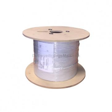 Cofer 500 meter 8 x 0.20mm2 soepele onafgeschermde alarmkabel op haspel