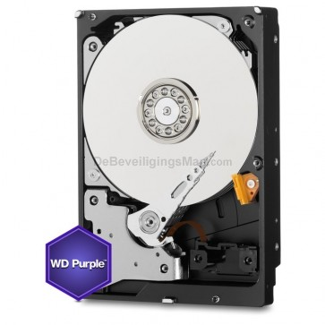 Western Digital 3TB AV harddisk Purple serie