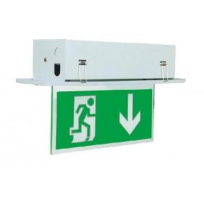 Nooduitgang verlichting Tot 25 Mtr geschikt voor inbouw B322-18-M