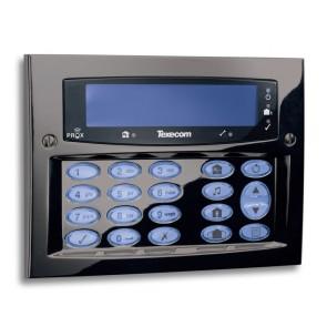 Premier Elite SMK Gunmetal (Opbouw) - LCD keypad (Blauw Display), Proximitylezer grade 3
