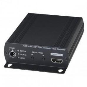 EverFocus EHA-CON Video converter van AHD naar HDMI en VGA