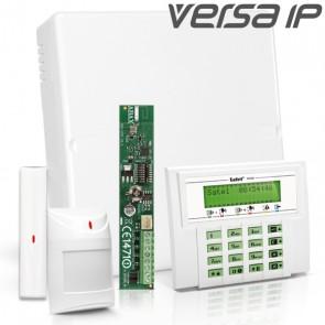VERSA IP RF Pack met Groen LCD, incl. RF Module, Draadloos Magneetcontact en Bewegingsmelder