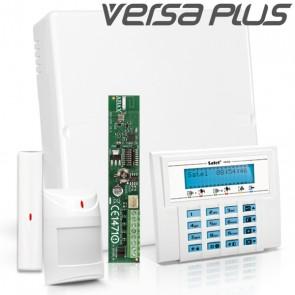 VERSA PLUS RF Pack met Blauw LCD, incl. RF Module, Draadloos Magneetcontact en Bewegingsmelder