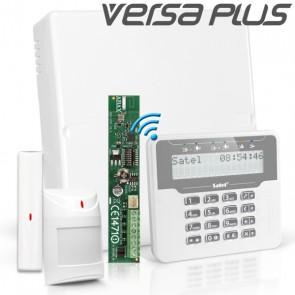 VERSA PLUS RF Pack met Draadloos Wit LCD, incl. RF Module, Draadloos Magneetcontact en Bewegingsmelder