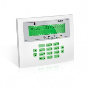 INT-KLCD-L-GR Groen InteGra LCD Bediendeel Groot