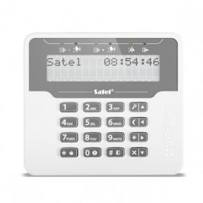 VERSA-LCDM-WH bediendeel met groot LCD display, Off White