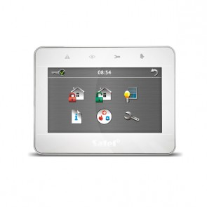 "INT-TSG-WSW Wit Touchscreen bediendeel 4.3"" voor InteGra/Versa"