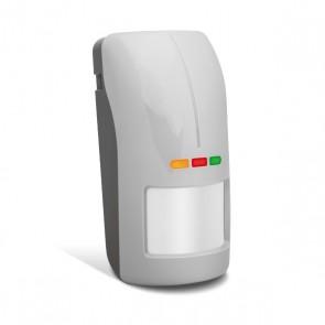 ABAX AOD-200 GY (grijs) draadloze dual detector voor buiten met schemersensor
