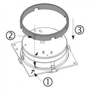 Sensomag Rubber Gasket t.b.v. gipsplafond